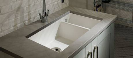 Composite Undermount Sinks Ceramic Inset Sinks