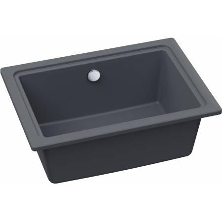Denton Single Bowl in Grey Metallic Granite