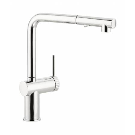 Fraction Single Lever Pull Out Spray in Chrome