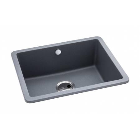 Matrix SQ GR15 Large Single Bowl in Grey Metallic Granite