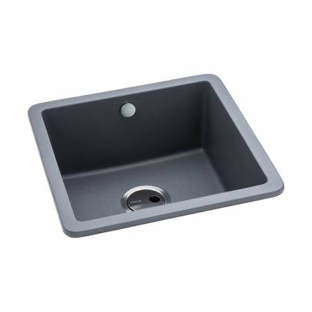 Matrix SQ GR15 Single Bowl in Grey Metallic Granite