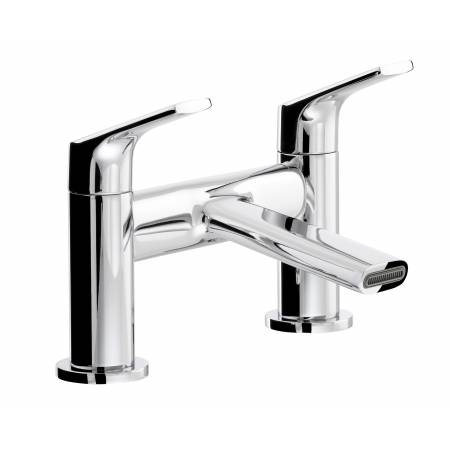 Squire Deck Mounted Bath Filler in Chrome