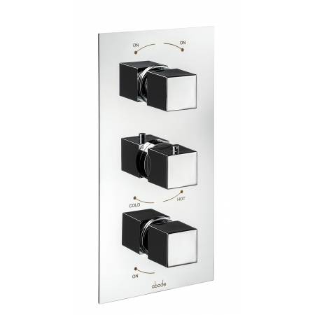 Zeal Concealed Thermostatic Shower Valve (3 Exit) in Chrome