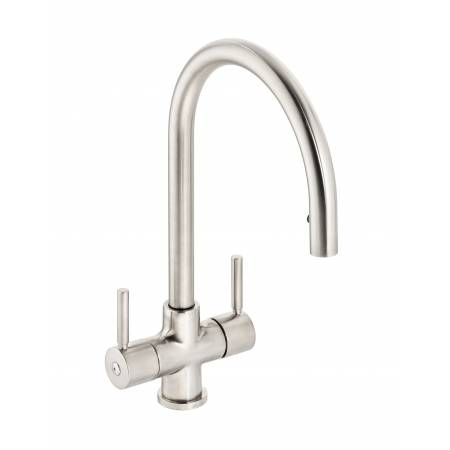 Zest Monobloc Pull Out in Brushed Nickel
