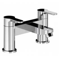 Début Deck Mounted Bath Filler in Chrome