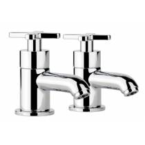 Serenitie Basin Pillar Taps  in Chrome