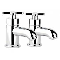 Serenitie Bath Pillar Taps  in Chrome