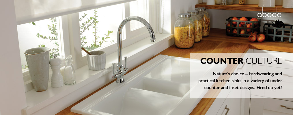 kitchen sinks from abode
