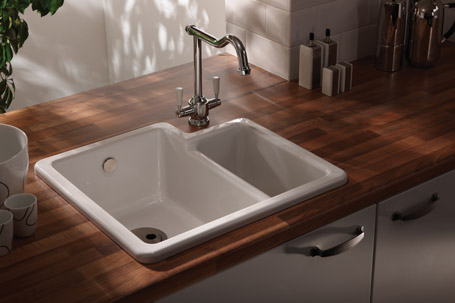 inset kitchen sink ceramic sinks cleaning recommendations 1870