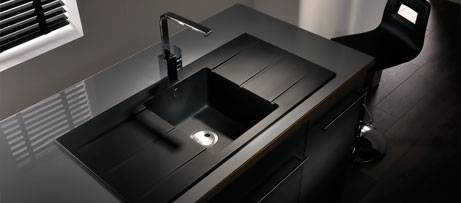 Black Kitchen Sink. Cool Made Black Soapstone Countertop Sink ...