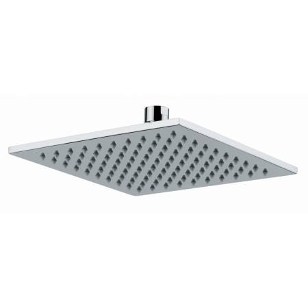 8mm Square Showerhead 200mm x200mm  in Chrome