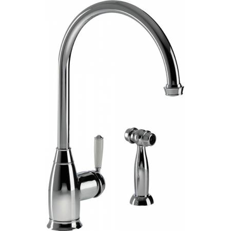 Astbury Single Lever with Integrated Handspray in Chrome