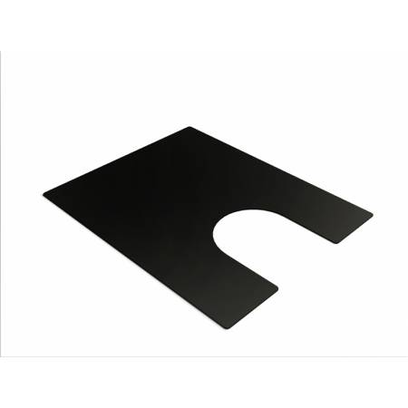 Bowl Mat in Matt Black (Compatible with the Belfast sink)
