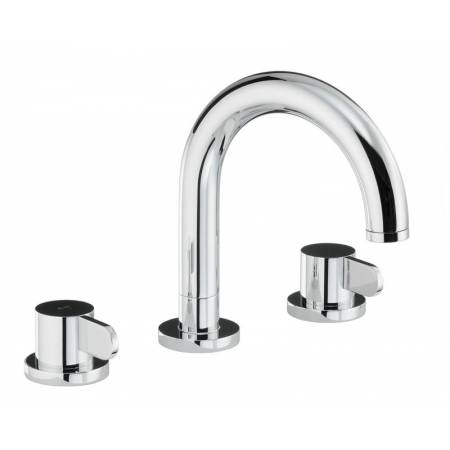 Bliss Thermostatic Deck Mounted 3 Hole Bath Mixer in Chrome