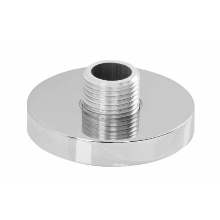 Circular Deck Mounted Shower Outlet in Chrome