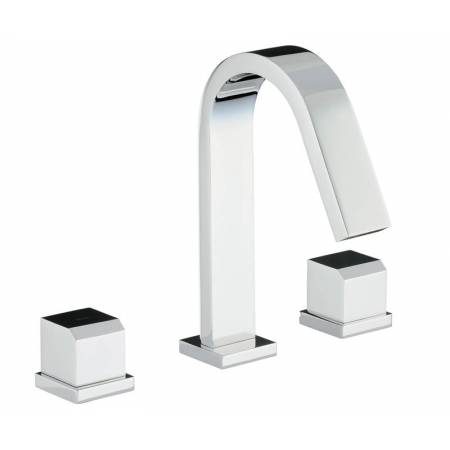 Extase Thermostatic Deck Mounted 3 Hole Bath Mixer in Chrome