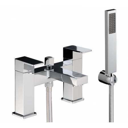 View Alternative product Fervour Deck Mounted Bath Shower Mixer in Chrome