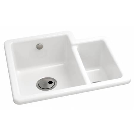 Matrix CR25 1.5 Bowl in White Glazed Ceramic