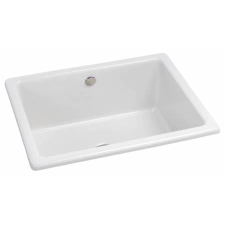Matrix CR25 Large Main Bowl in White Glazed Ceramic