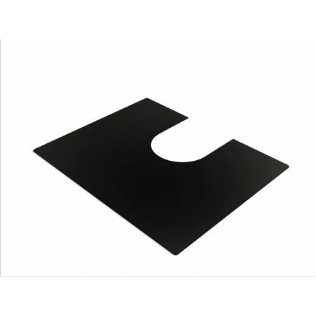 Bowl Mat in Matt Black (Compatible with R15 & R25 sinks)