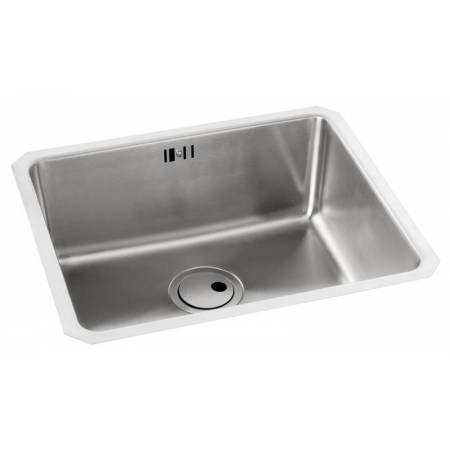 Matrix R25 Large Single Main Bowl in Stainless Steel