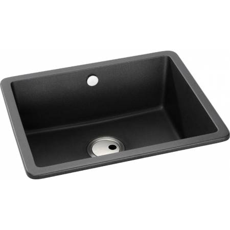 View Alternative product Matrix SQ GR15 Large Main Bowl in Black Metallic Granite