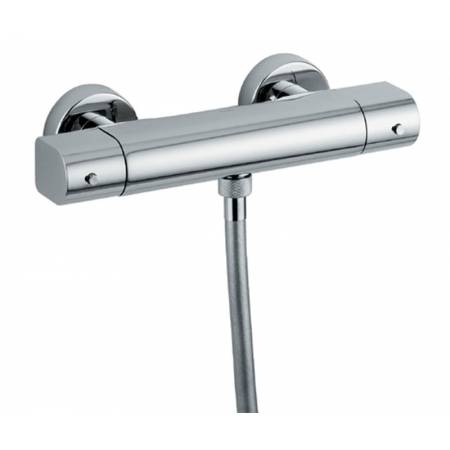Rapture Exposed Thermostatic Bar Shower Valve in Chrome