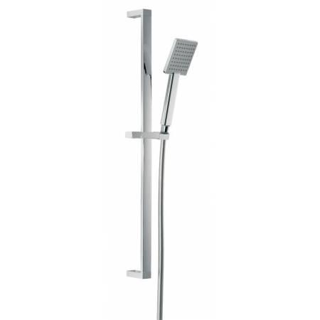 Sliding Rail Shower Kit 7  in Chrome
