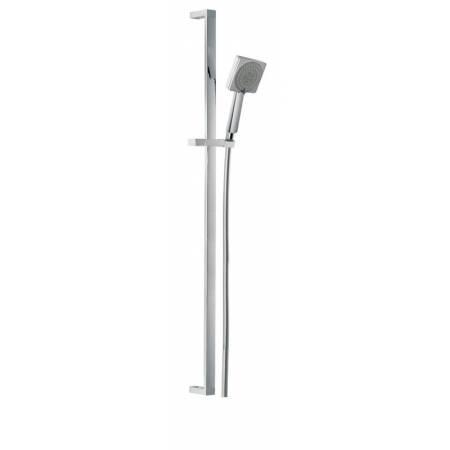 Sliding Rail Shower Kit 8  in Chrome