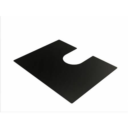 Large Bowl Mat in Matt Black (Compatible with Matrix R0 sinks)