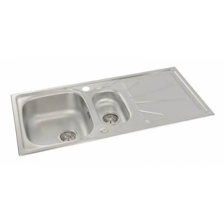 View Alternative product Trydent 1.5 Bowl & Drainer in Stainless Steel