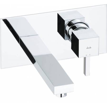 Zeal Wall Mounted Basin Mixer in Chrome
