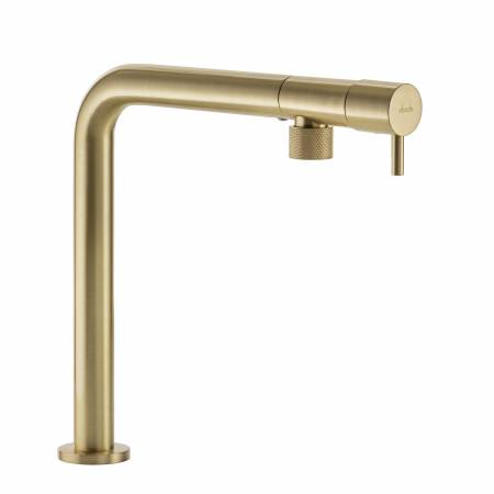 Agilis Single Lever in Brushed Brass