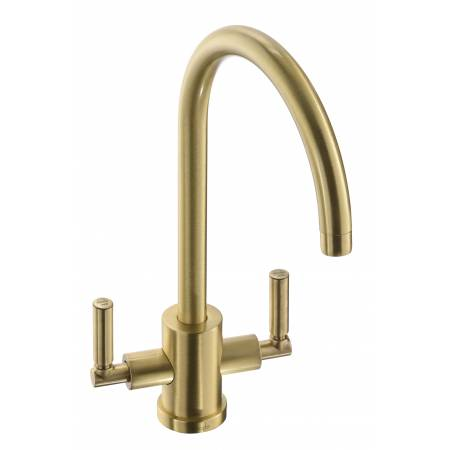 Atlas Aquifier Water Filter Monobloc in Brushed Brass