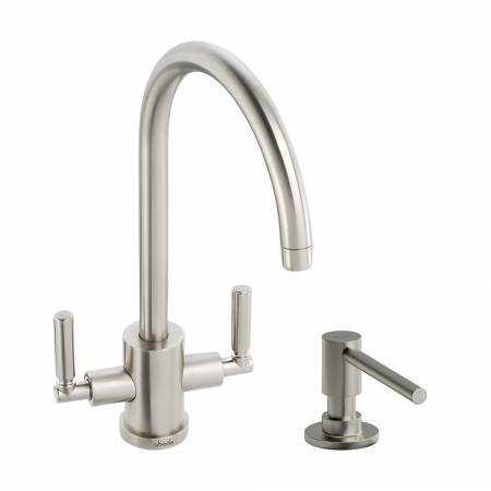 View Alternative product Atlas Monobloc and Ally Soap Dispenser in Brushed Nickel