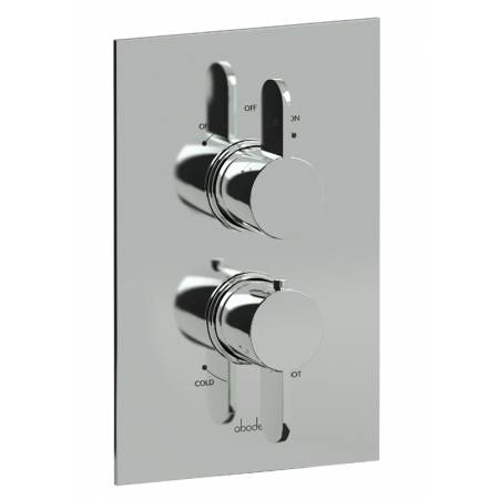 Bliss Concealed Thermostatic Shower Valve (2 Exit) in Chrome