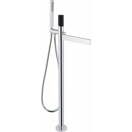 Cyclo Floor Standing Bath Filler with Shower Handset