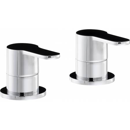 Debut Deck Mounted Bath Filler Panel Valves