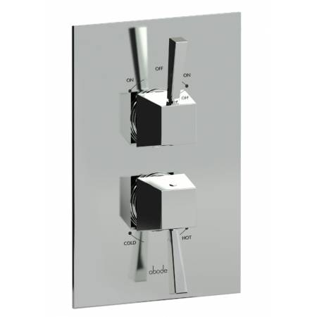 Decadence Concealed Thermostatic Shower Valve (2 Exit) in Chrome