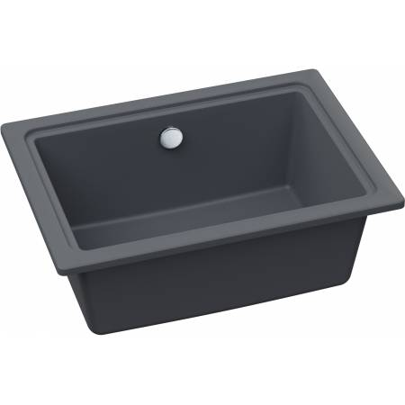 Denton Single Bowl in Grey Metallic Granite