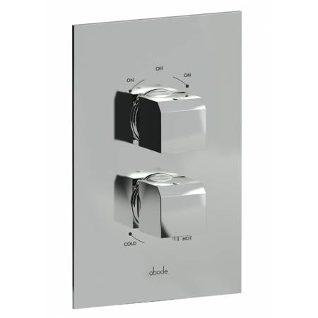 Extase Concealed Thermostatic Shower Valve (2 Exit) in Chrome