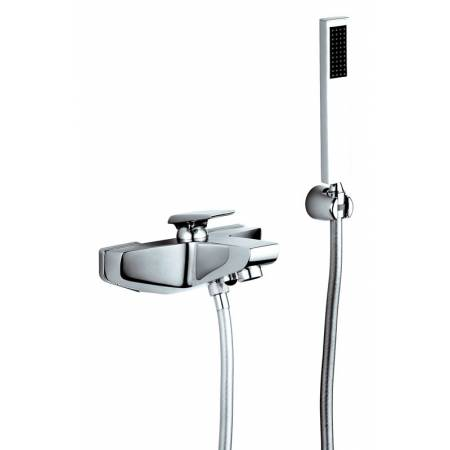 Extase Wall Mounted Bath Shower Mixer with Shower Handset
