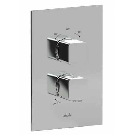 Fervour Concealed Thermostatic Shower Valve (2 Exit) in Chrome
