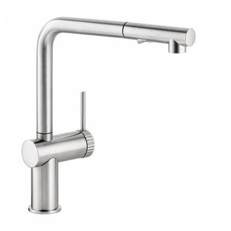 View Alternative product Fraction Single Lever Pull Out Spray in Brushed Nickel