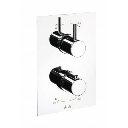 Harmonie Concealed Thermostatic Shower Valve (2 Exit) in Chrome