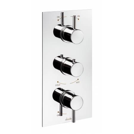 Harmonie Concealed Thermostatic Shower Valve (3 Exit) in Chrome