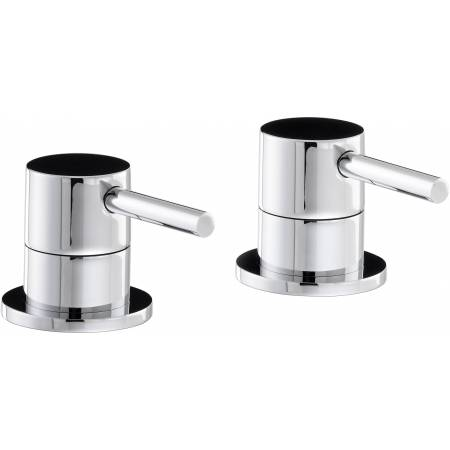 Harmonie Deck Mounted Bath Filler Panel Valves