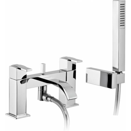 Iso Deck Mounted Bath Shower Mixer with Shower Handset