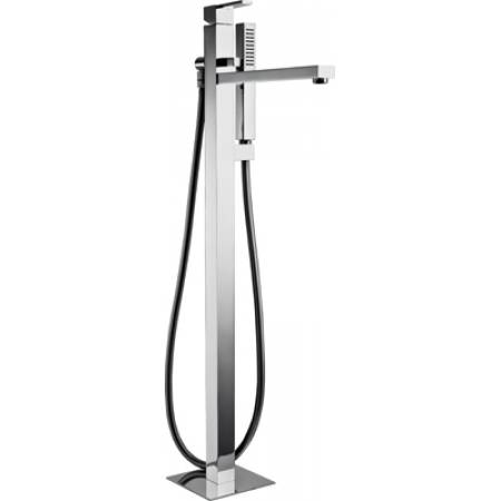 Iso Floor Standing Bath Filler with Shower Handset