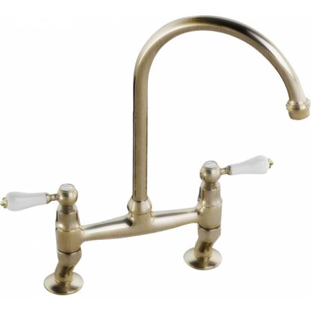 Ludlow Bridge in Antique Brass